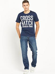 crosshatch-huddle-tee