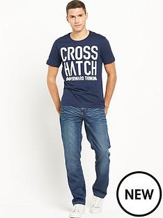 crosshatch-huddle-tee