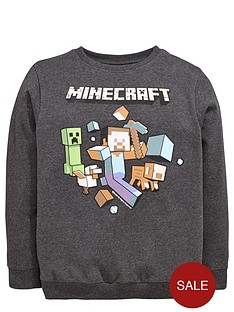 minecraft-minecraft-sweat-top
