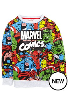 marvel-boys-comic-collagenbspsweater