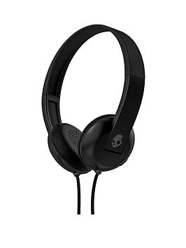Skullcandy Uproar On Ear Headphones With Taptech  BlackGrey