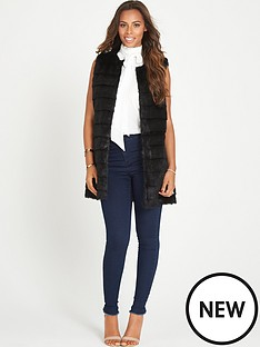 rochelle-humes-fur-gilet
