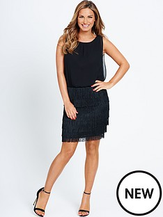 samantha-faiers-fringe-skirt-dress