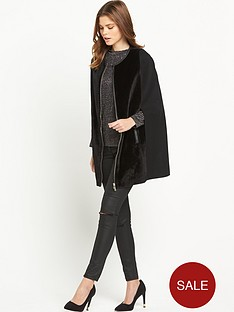 v-by-very-faux-pony-skin-cape-coat