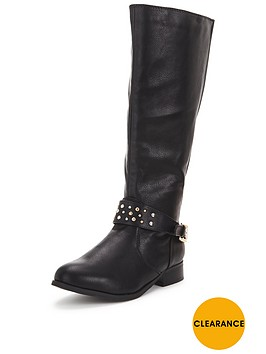 so-fabulous-tyra-stud-detail-knee-boot-back-elastic-black-extra-wide-fit