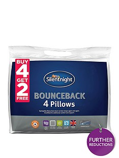 silentnight-bounceback-pillows-ndash-buy-4-get-2-free