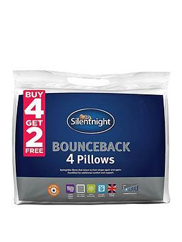 Silentnight Silentnight Bounceback Pillows &Ndash; Buy 4 Get 2 Free Picture