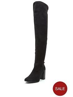 shoe-box-lauren-thigh-high-stretch-boot-imi-suede-black