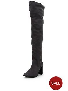 shoe-box-lauren-thigh-high-stretch-boot-imi-suede-grey