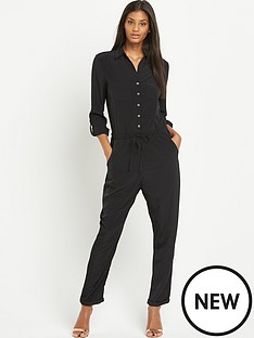 lipsy-lipsy-wax-lace-back-jumpsuit