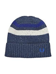 fred-perry-fred-perry-beanie-navy-marl