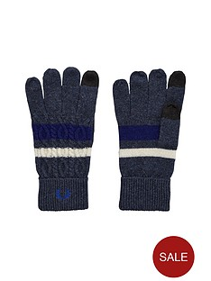 fred-perry-fred-perry-gloves-navy-marl