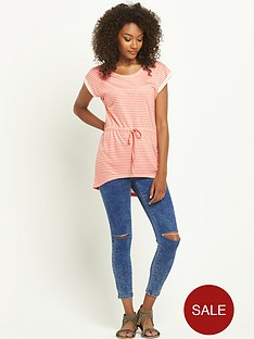 south-neon-stripe-low-hem-tunicampnbsp
