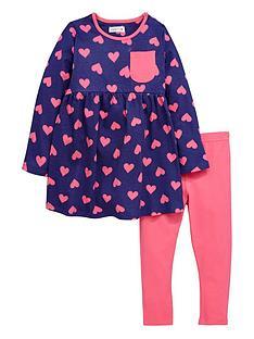 ladybird-girls-heart-print-jersey-dress-and-leggings-set-2-piece