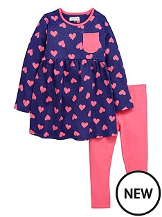 ladybird-toddler-girls-heart-print-jerey-dress-amp-legging-set-1-7-years