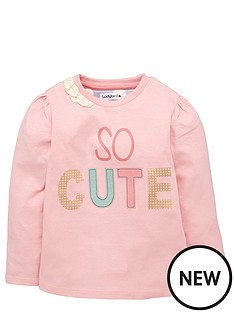 ladybird-toddler-girls-single-pink-marl-039so-cute039-top-1-7-years