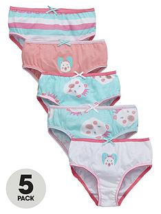 ladybird-girls-polar-bear-print-knickers-5-pack-12-months-7-years