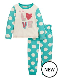 ladybird-toddler-girls-single-love-print-pyjamas-1-7-years
