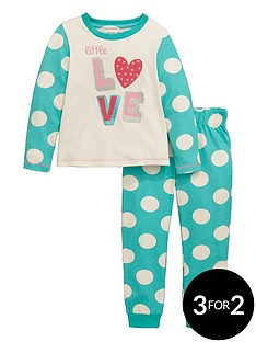 ladybird-toddler-girls-single-love-print-pyjamas-1-7-years