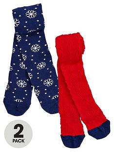 ladybird-girls-novelty-christmas-tights-2-pack