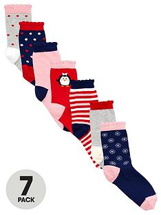 ladybird-girls-novelty-christmas-socks-7-pack