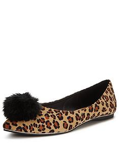 shoe-box-ophelia-pom-pom-point-flat-ballerina-leopard