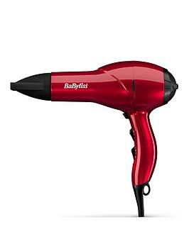Babyliss Babyliss 5568Bu Salon Light 2100W Red Ac Hairdryer Picture