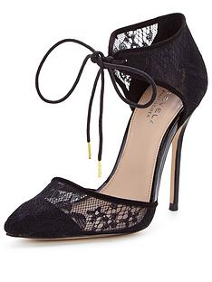 carvela-carmel-lace-two-part-court-shoe