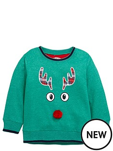 ladybird-toddler-boys-tartan-rudolph-single-sweat-1-7-years