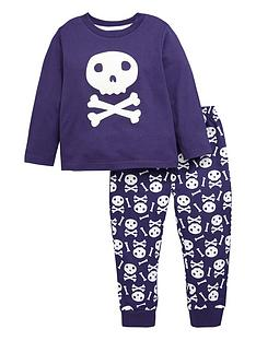 ladybird-boys-glow-in-the-dark-skull-pyjamas-12-months-7-years