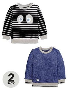 ladybird-boys-stripe-and-face-neppy-sweaters-2-pack-12-months-7-years