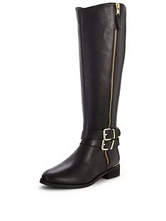 shoe-box-vienna-leather-zip-detail-gold-trim-knee-bootsnbsp