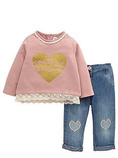 ladybird-baby-girls-heart-sweater-and-jeans-set-2-piece