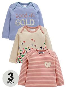ladybird-baby-girls-long-sleeve-printed-t-shirts-3-pack
