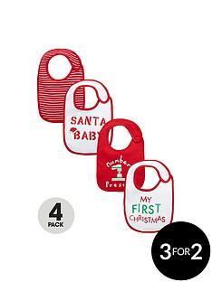 ladybird-baby-unisex-novelty-bibs-4-pack