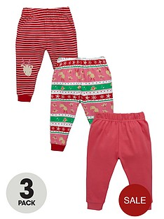 ladybird-baby-girls-noveltynbspjoggers-3-pack