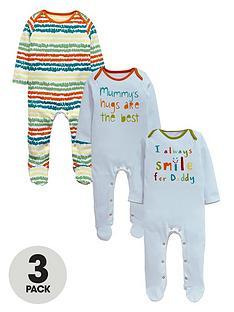 ladybird-unisex-baby-sleepsuitsnbsp3-pack