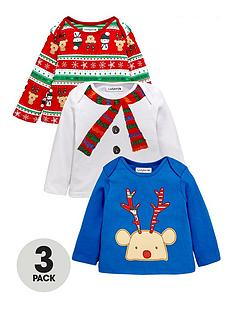 ladybird-baby-boys-christmas-long-sleeve-t-shirts-3-pack