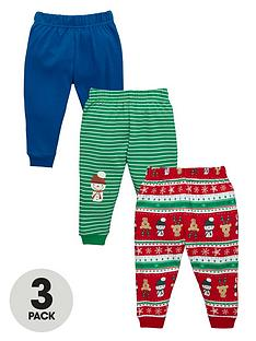 ladybird-baby-boys-christmas-joggers-3-pack