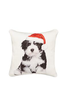 hamilton-mcbride-christmas-puppy-cushion
