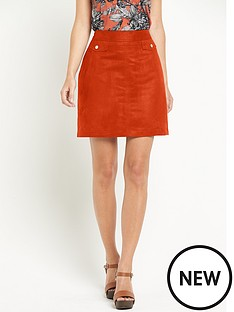 definitions-definitions-suedette-skirt
