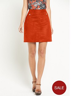 definitions-suedette-skirt