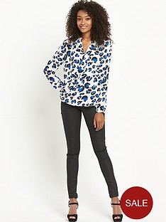 definitions-long-sleeve-animal-wrap-front-blouse