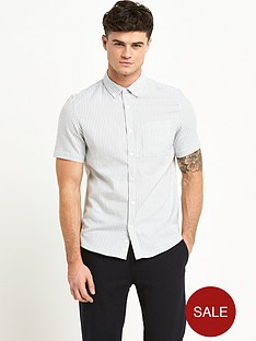 river-island-bengal-stripe-mens-shirt-grey