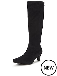 shoe-box-cormack-imi-suede-stretch-boot-mid-heel