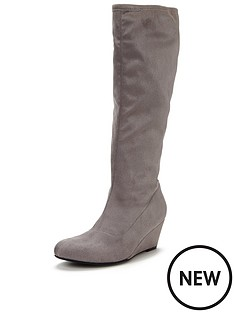 shoe-box-menzel-imi-suede-stretch-boot-wedge