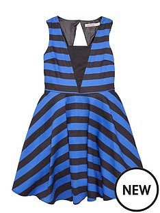 freespirit-girls-stripy-prom-dress