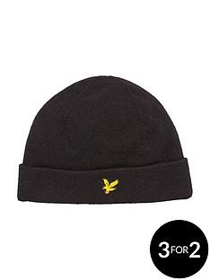 lyle-scott-knitted-beanie