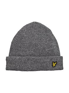 lyle-scott-knitted-beanie