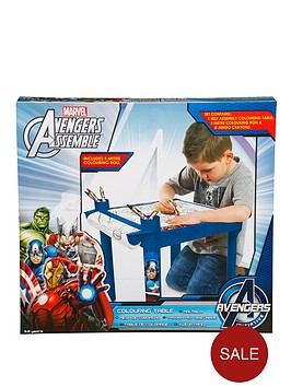 the-avengers-assemble-colouring-table